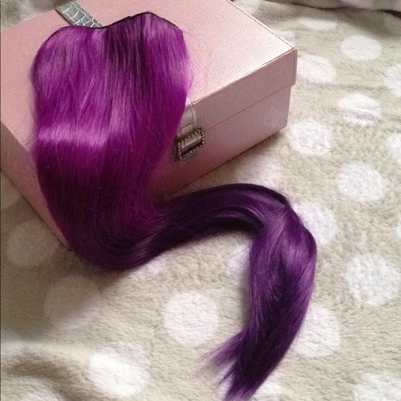 Accessories Beautiful Synthetic Purple Ombr Hair Extensions Poshmark